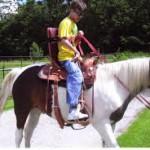 Hjelpemidler riding av hest