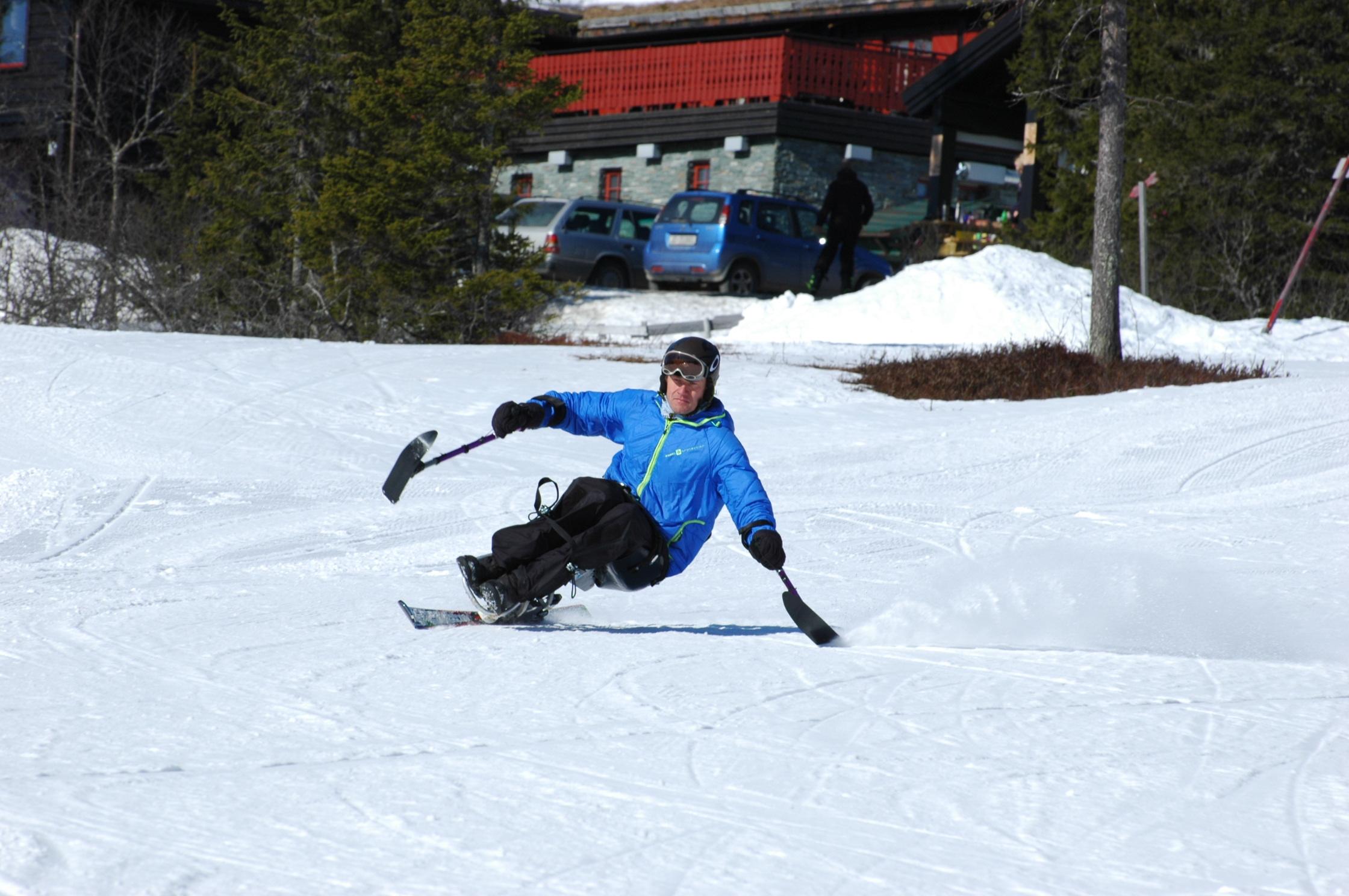Alpinutstyr for funksjonshemmede