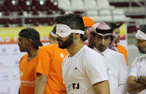 Blinde Fotball VM OL
