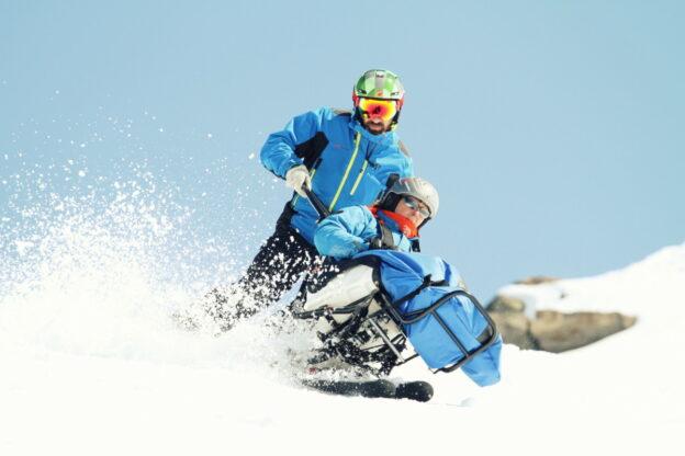 Hjelpemidler for skibakken