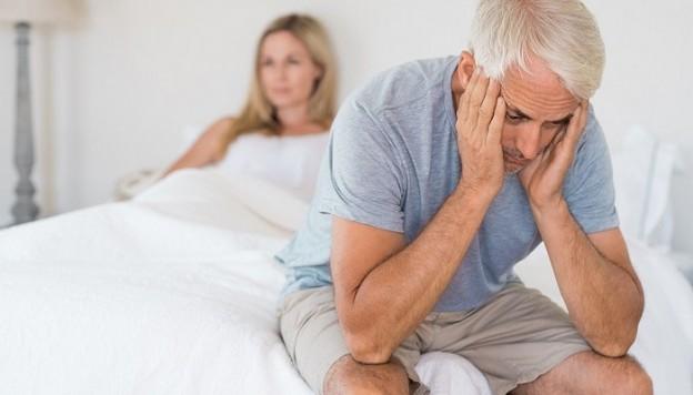Prostatakreft og ereksjonsproblemer